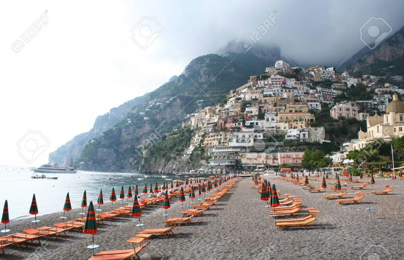 Italy. Amalfi coast. Positano beach. Stock Photo - 8533663