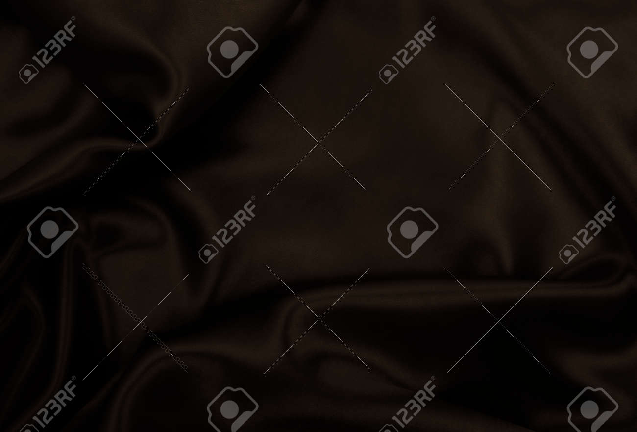 Smooth elegant brown silk or satin texture can use as abstract background. Luxurious background design wallpaper. In Sepia toned. Retro style - 151640616