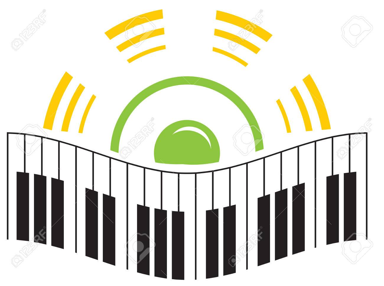 Music logo Stock Vector - 2881472