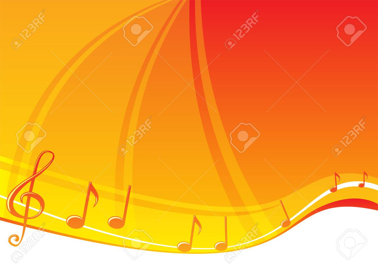 Music background Stock Vector - 3095599