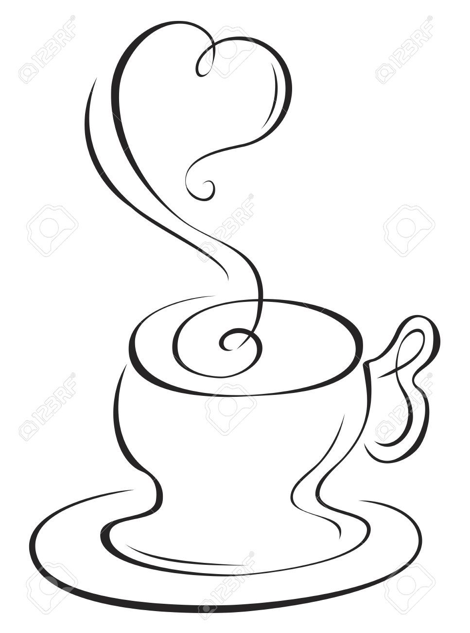 Hot cup Stock Vector - 9306562