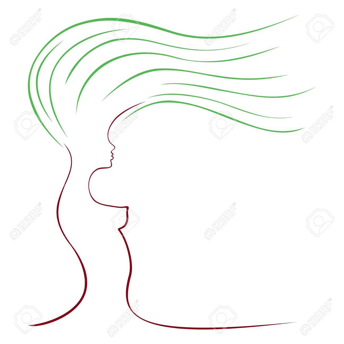 Woman Silhouette Logo Logo Woman Silhouette