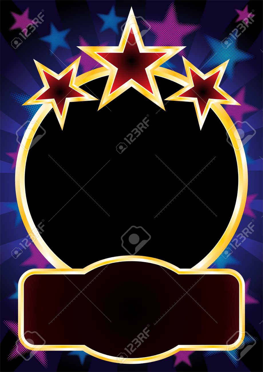 Gold Frame With Empty Place Royalty Free Cliparts, Vectors, And ...