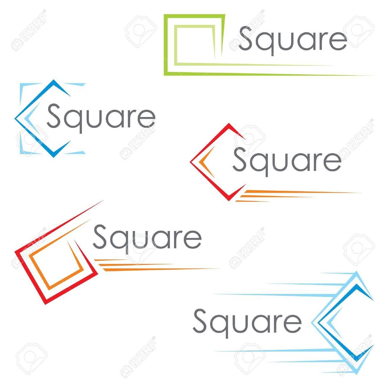 Square icons - 16550301