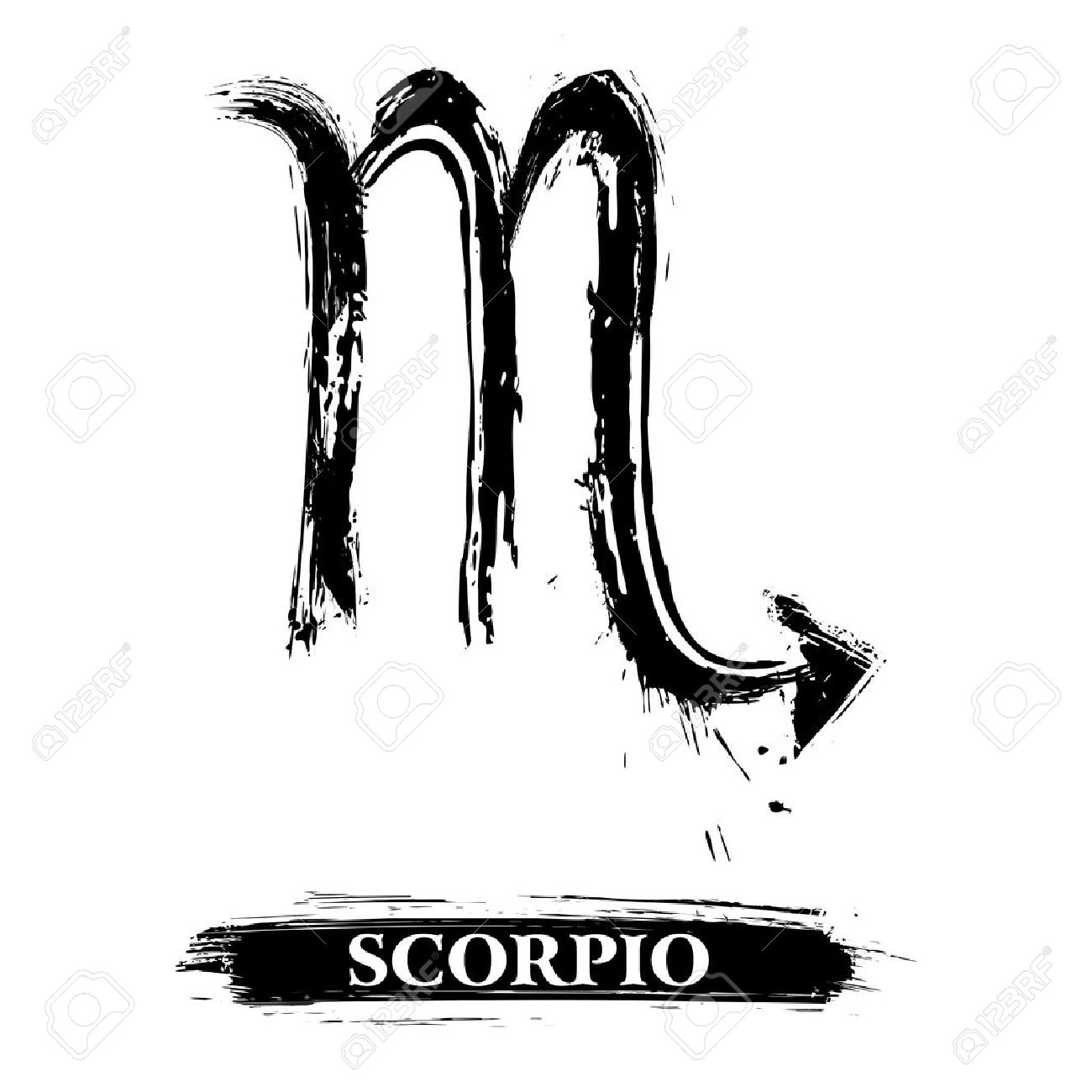 Scorpio symbol Stock Vector - 16550316