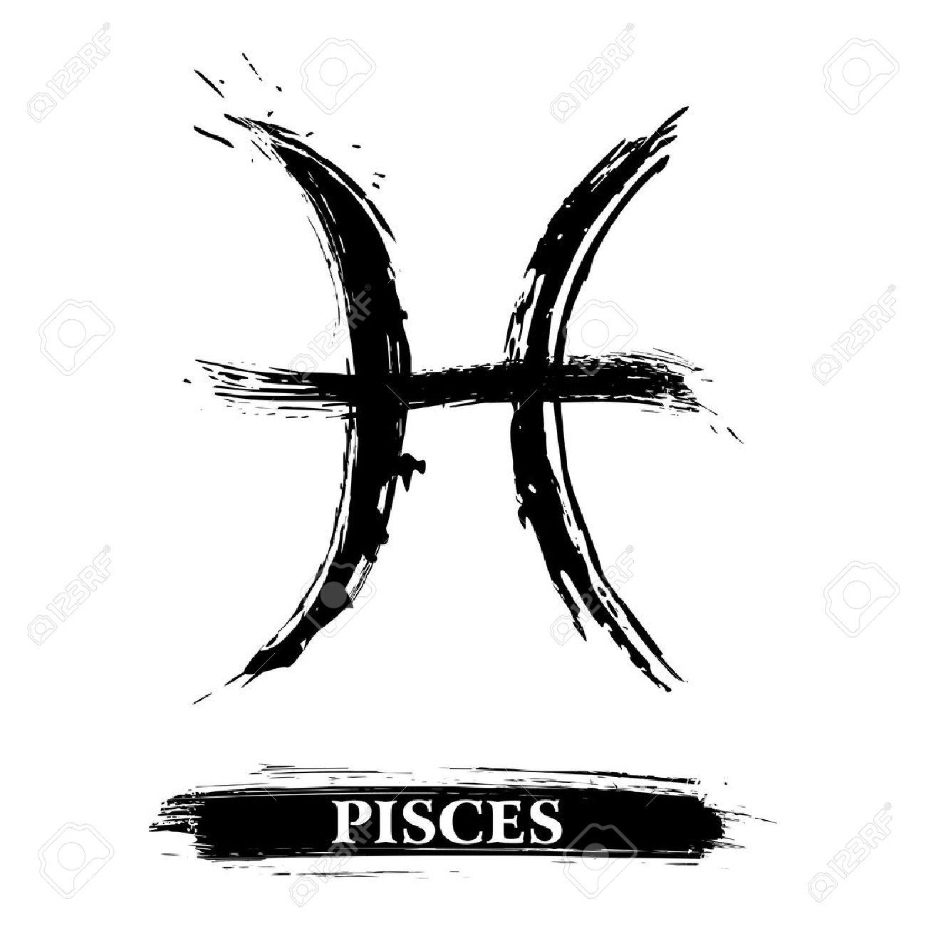 Pisces symbol royalty free cliparts vectors and stock pisces symbol stock vector 16550308 buycottarizona
