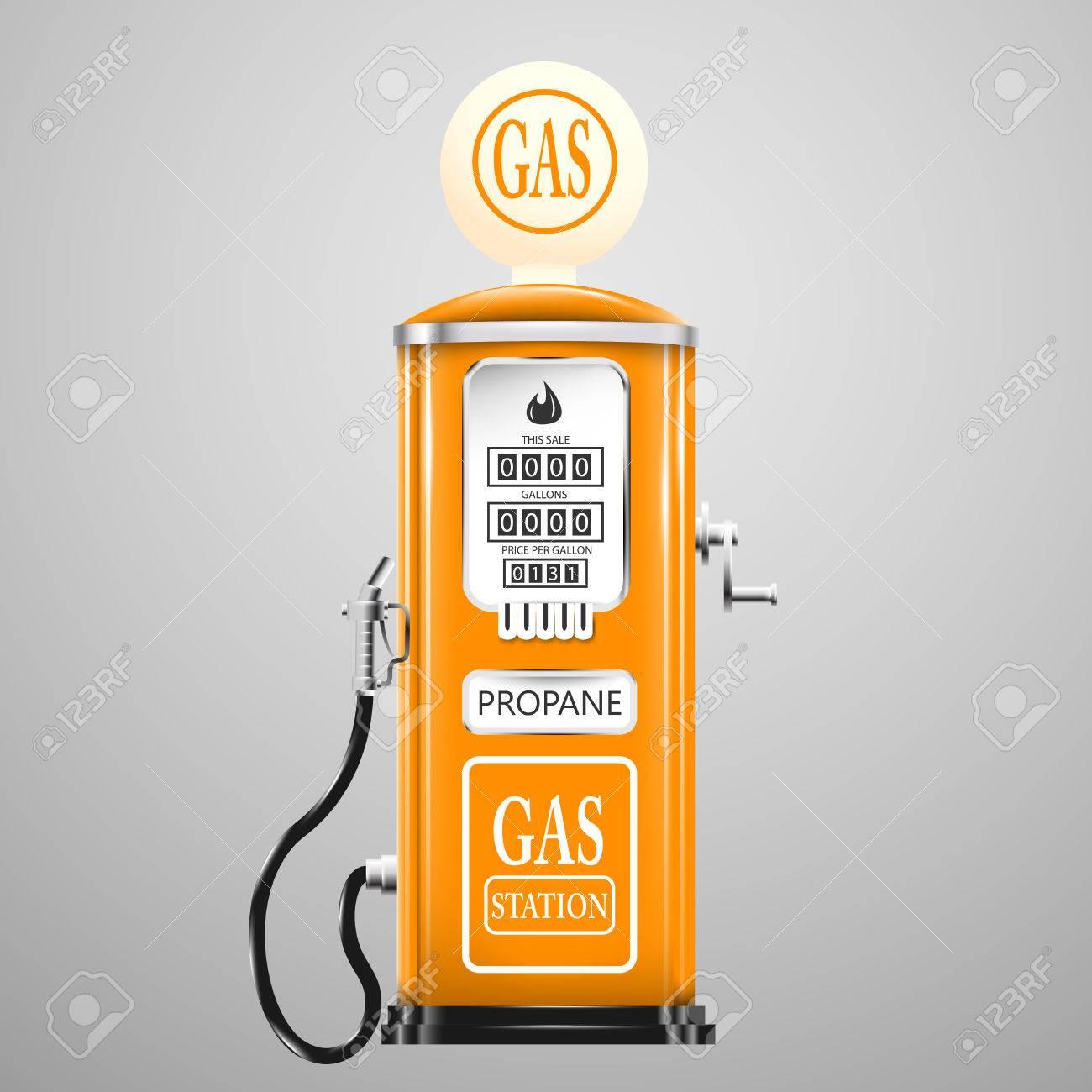 Reg isolated retro gas pump. - 50937988