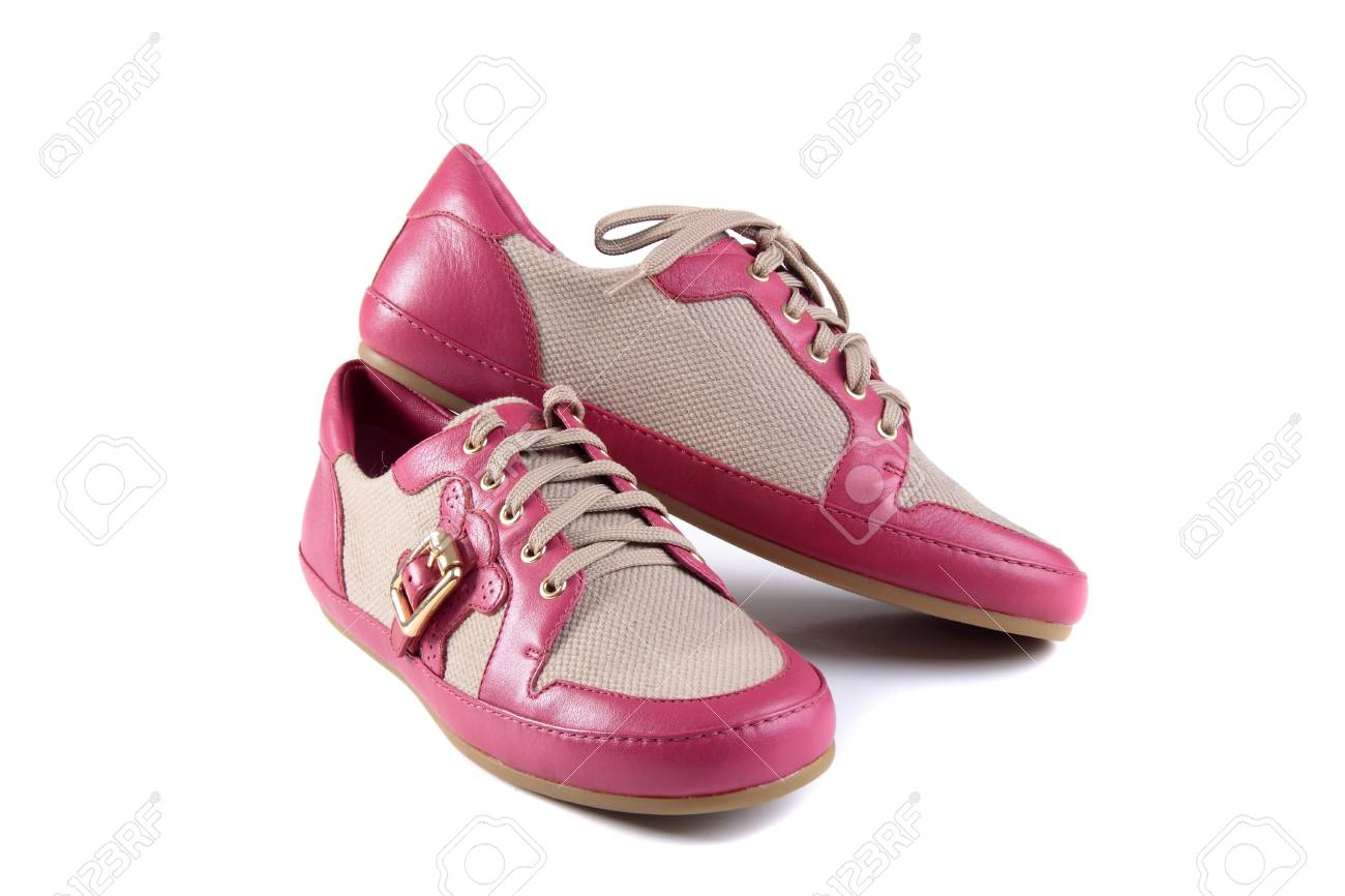 pink shoes Stock Photo - 14060676