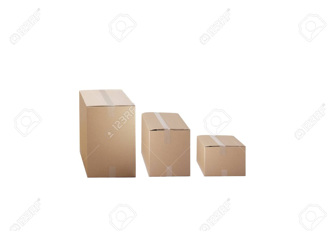 cardboard boxes Stock Photo - 14081524