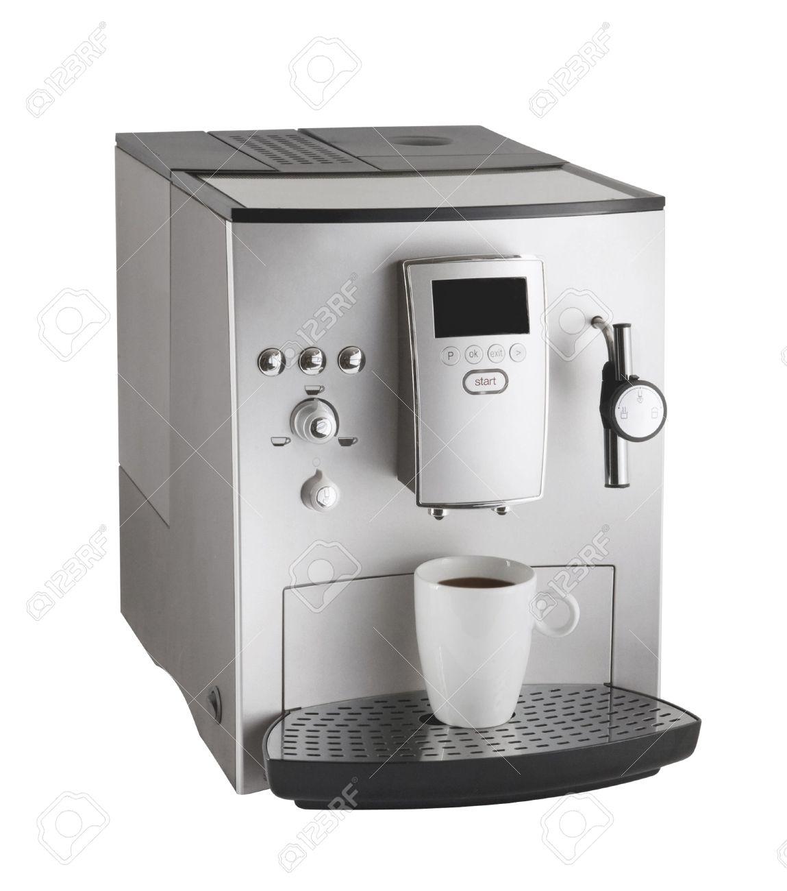 Expresso coffee machine Stock Photo - 14727805