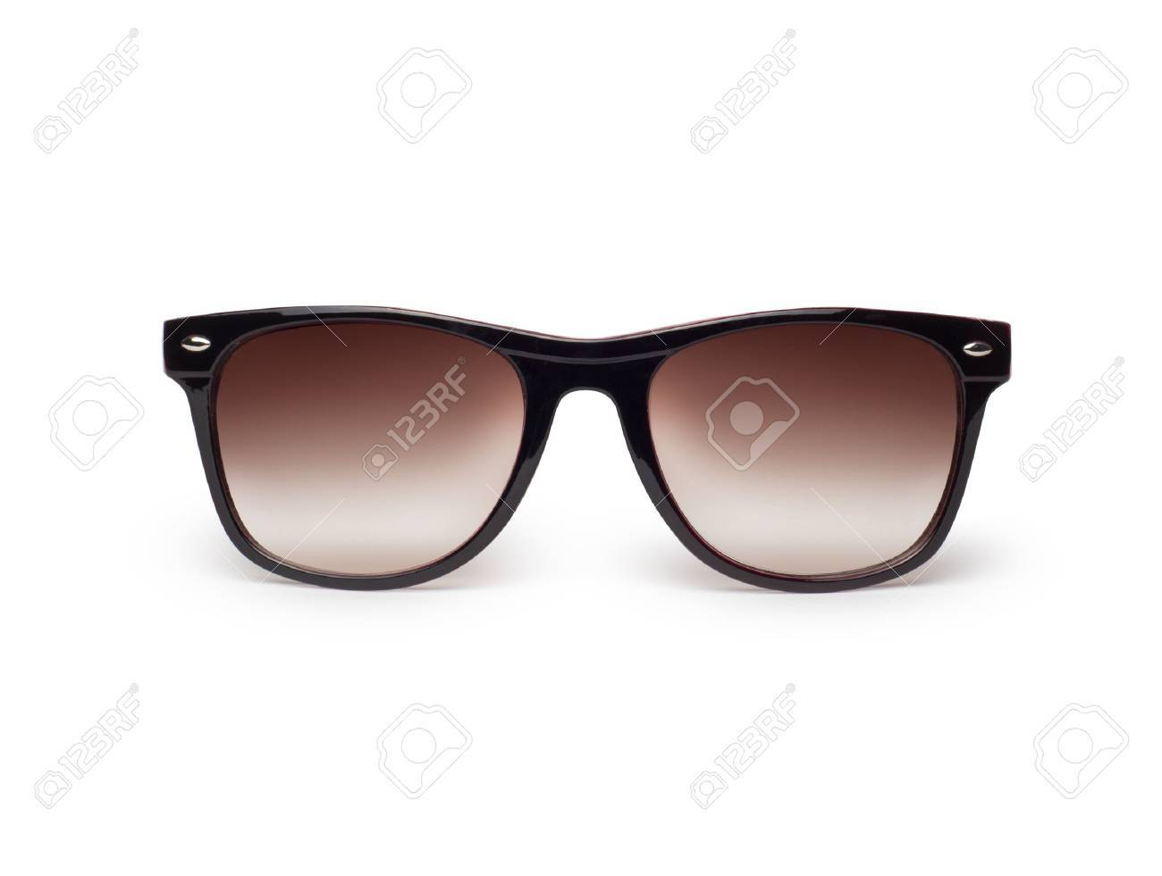 Sunglasses isolated against a white background Stock Photo - 17908796
