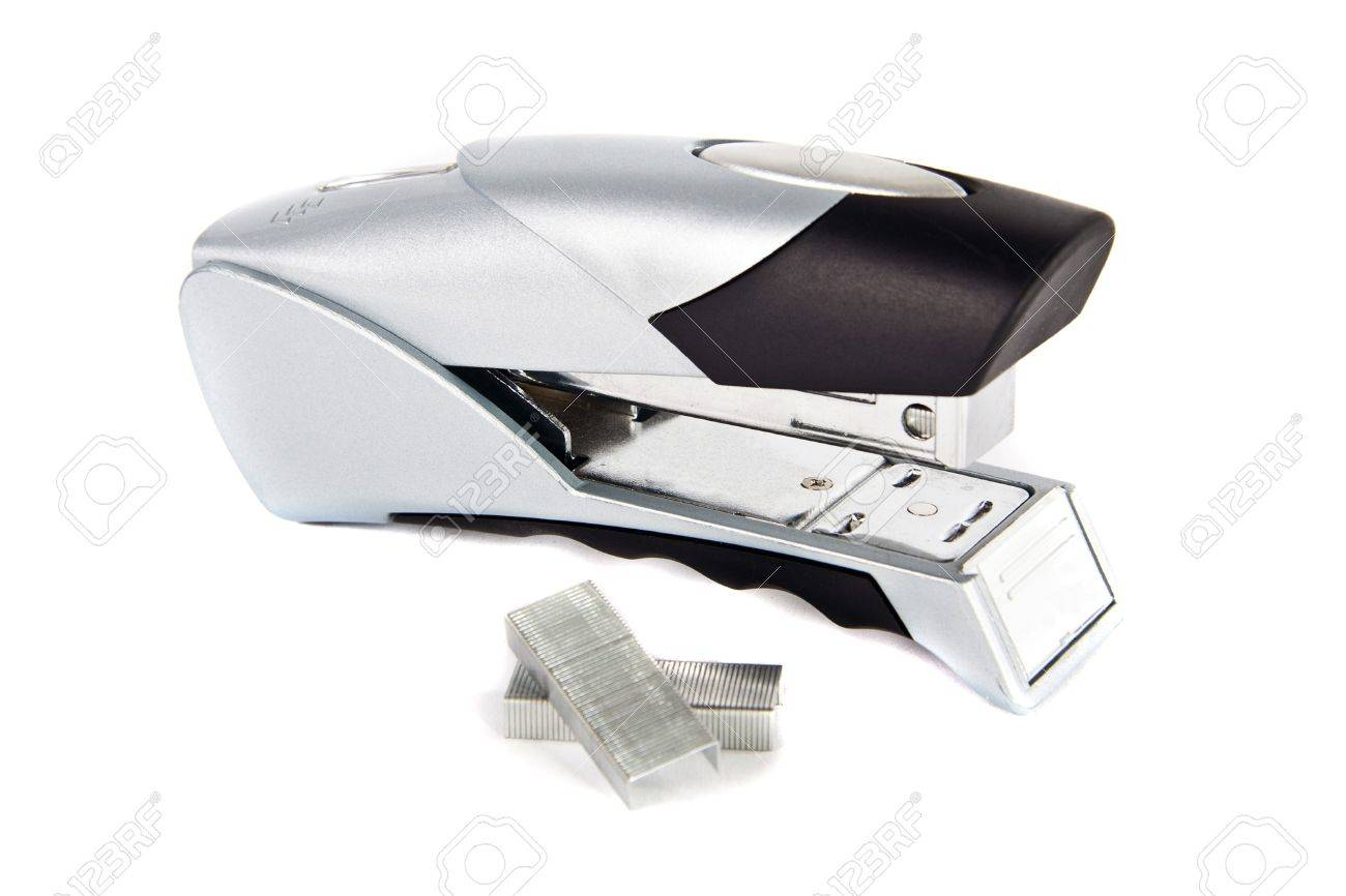 professional stapler isolated on white background Stock Photo - 21991705