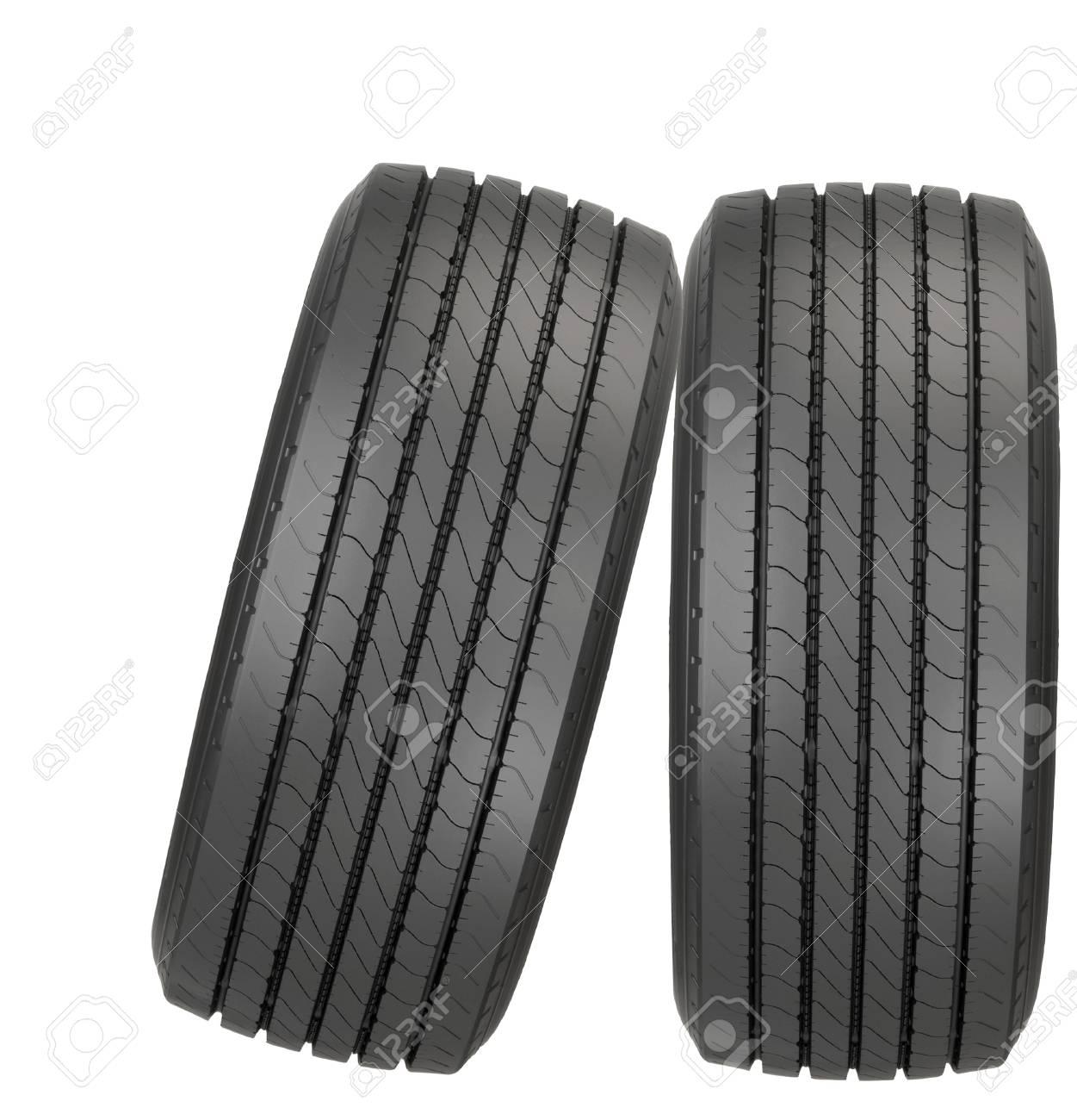 new car tyres Stock Photo - 21992228