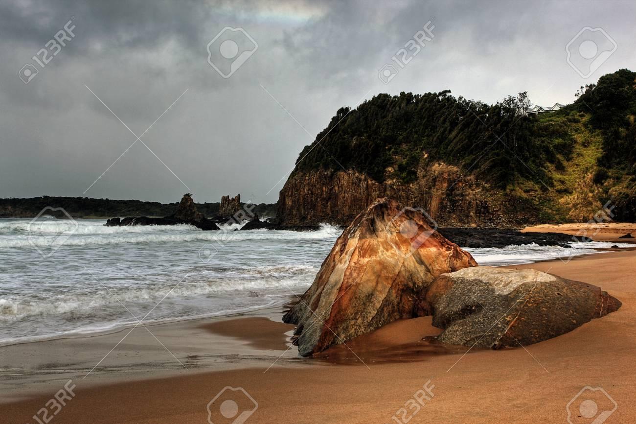 ocean view along the shore Stock Photo - 9852388