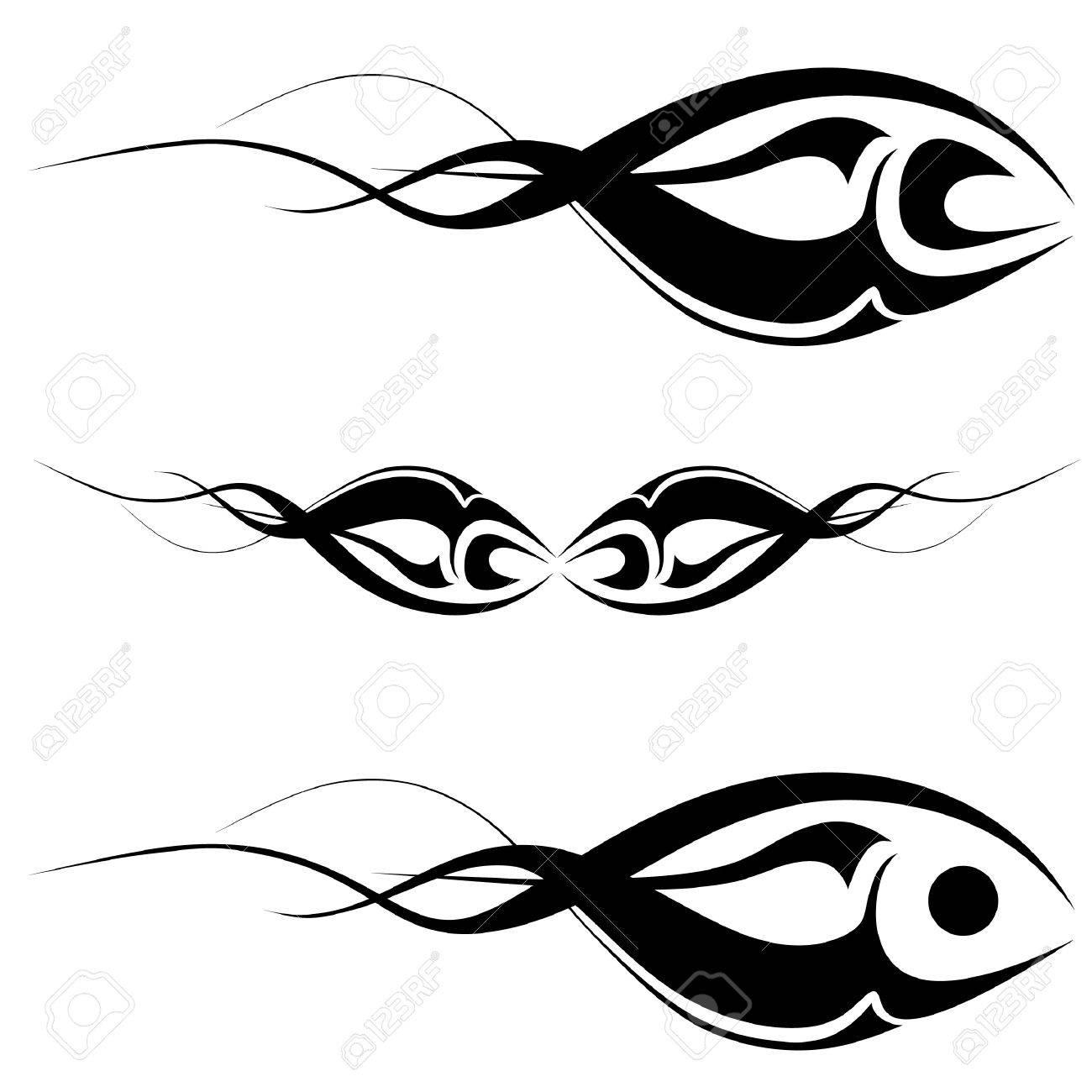 tribal art tattoo Stock Vector - 10592791