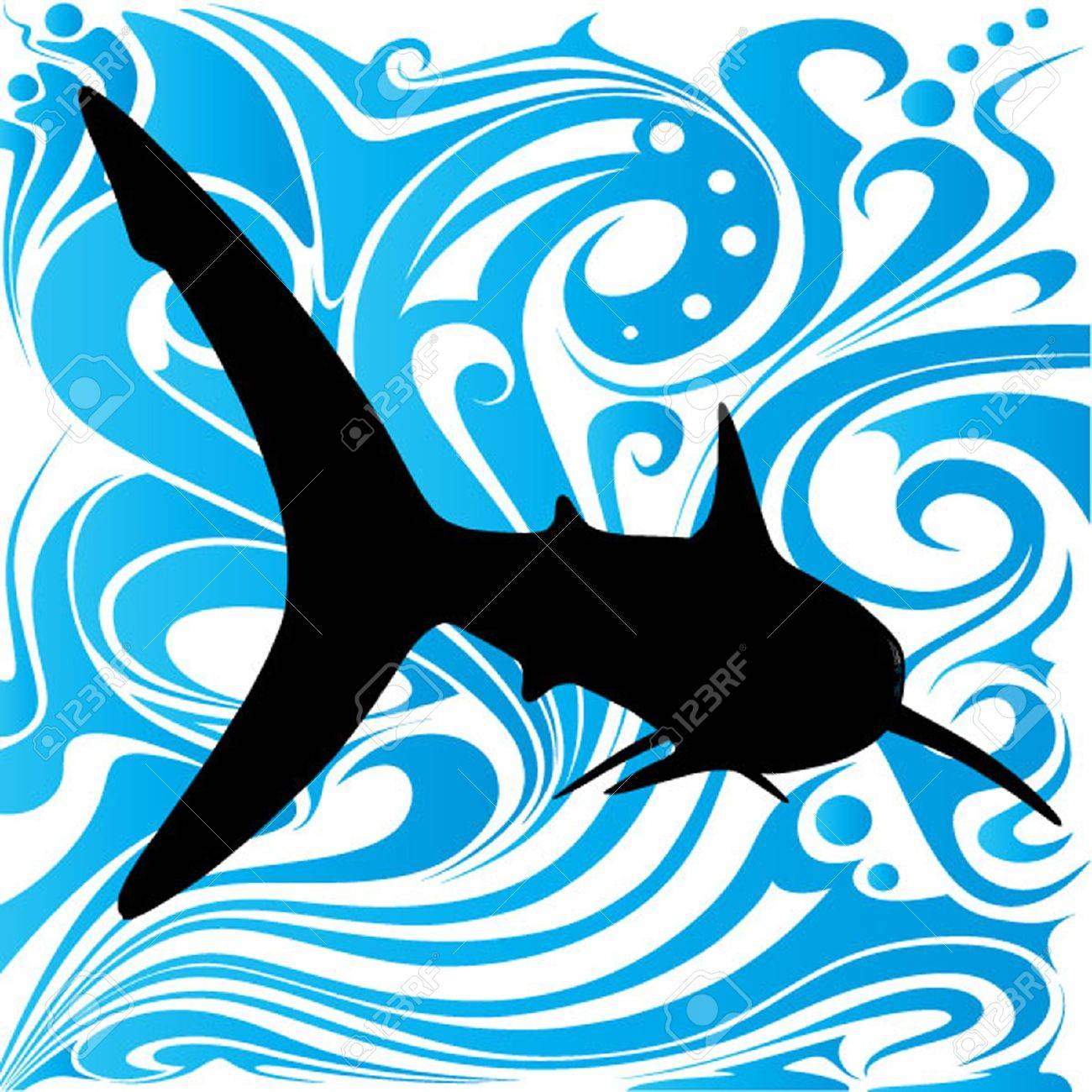abstract fish design Stock Vector - 13592171