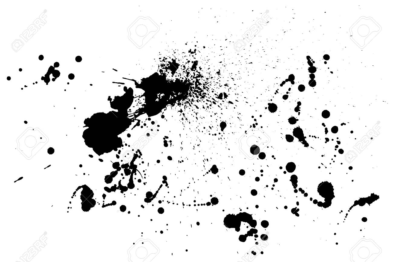 splatter paint texture distress rough background black spray