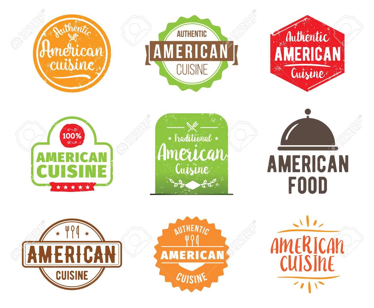 Cocina Americana Comida Tradicional Autentico Se Encuentra El