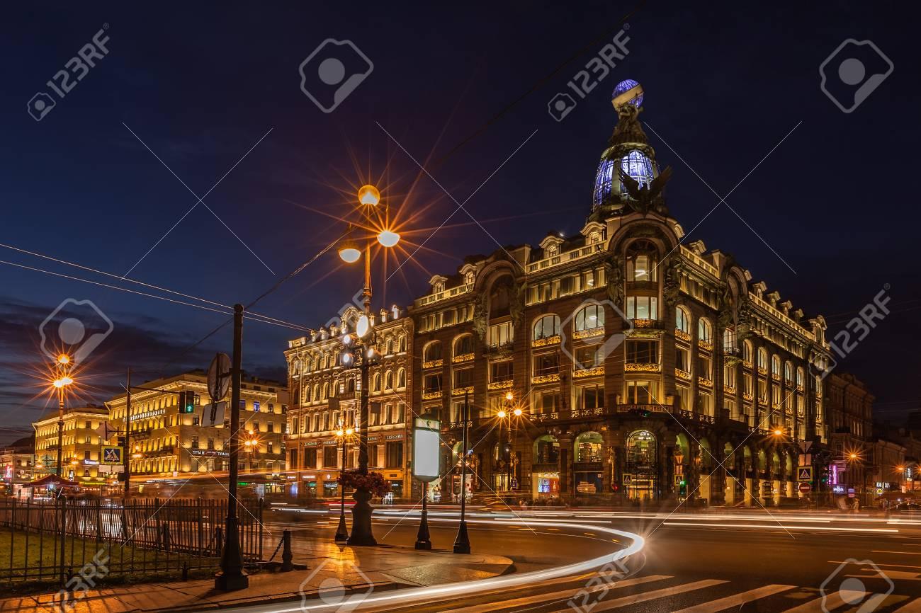 Immagini stock st. petersburg russia 4 settembre 2015: più grande