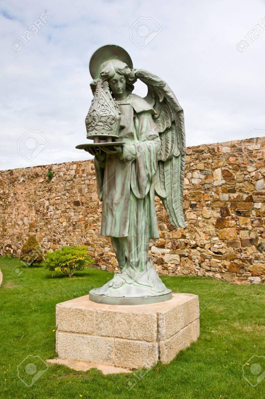 angel in Astorga, Leon, Spain Stock Photo - 17919843