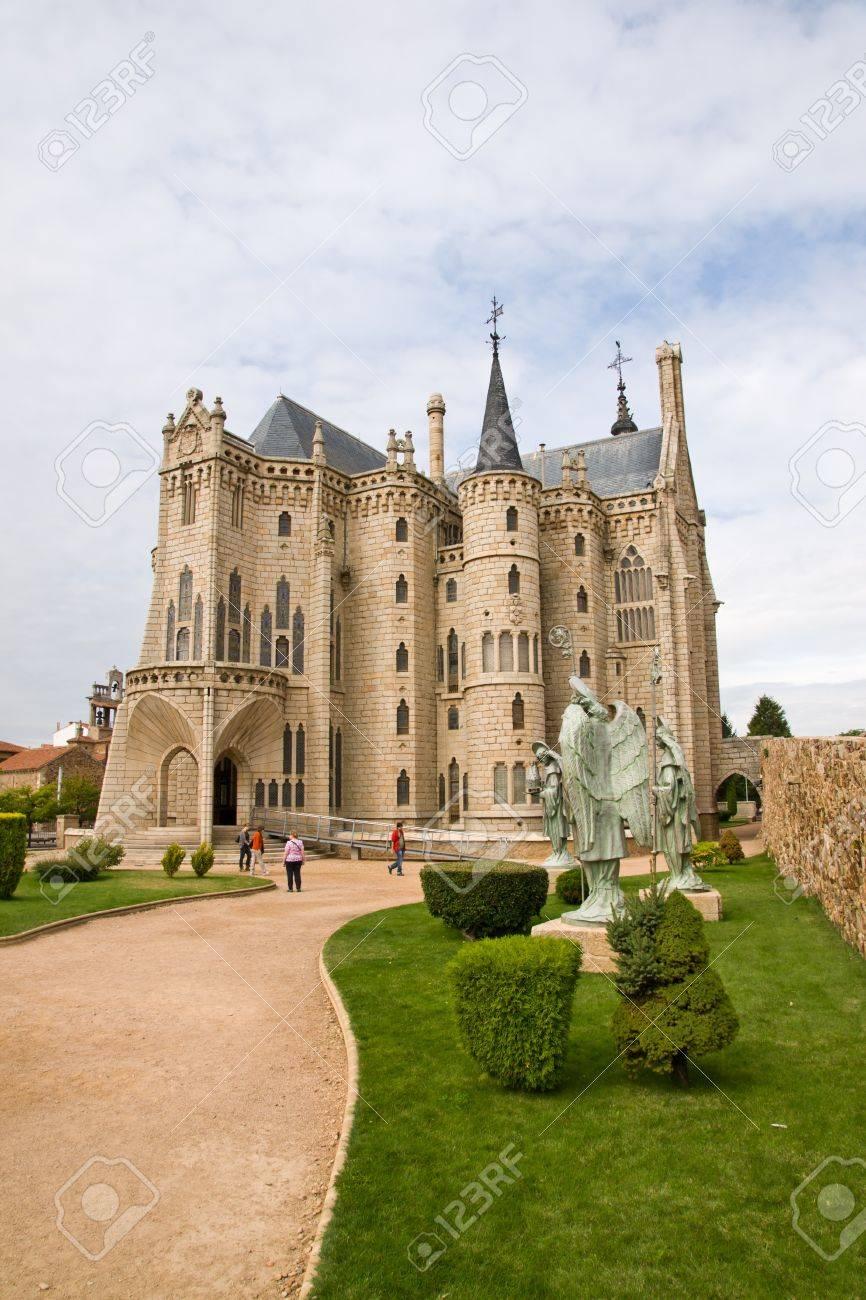 Gaudi palace in Astorga, Leon, Spain Stock Photo - 17913747