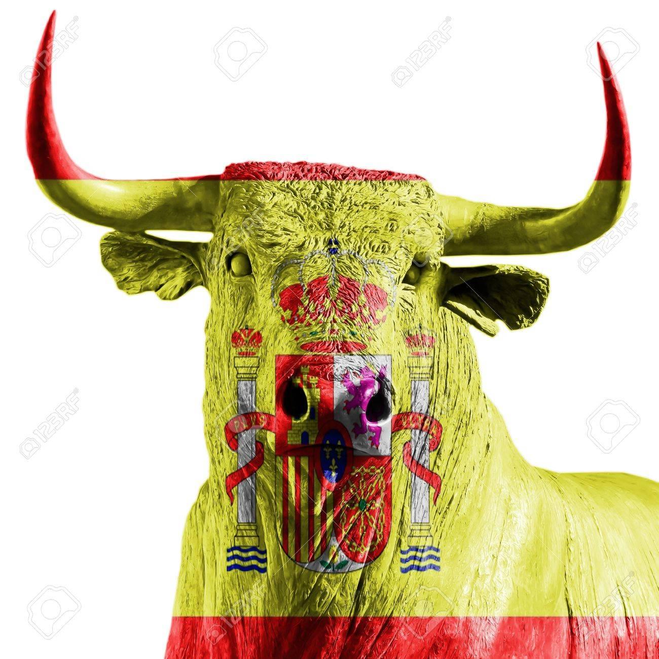spanish bull Stock Photo - 21762076