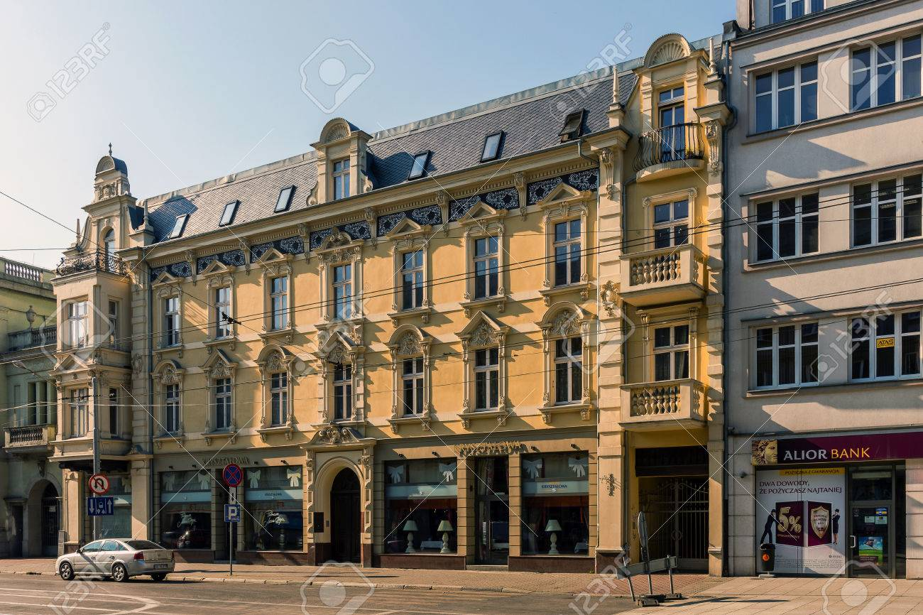 katowice poland july 17 2015 eclectic tenement built in1890 in the style - Eclectic Hotel 2015