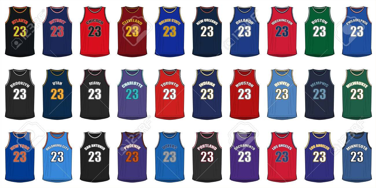 Generic Shirts of American Basketball Cities - 57013243