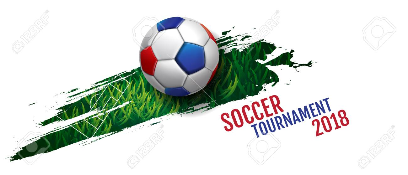 Football tournament, Soccer, cup, Design Background Template, Vector Illustration. - 96686732