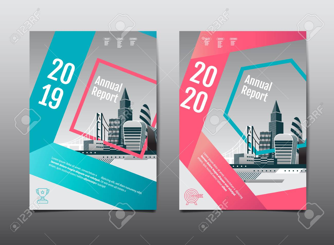 annual report 2019,2020 ,future, business, template layout design,