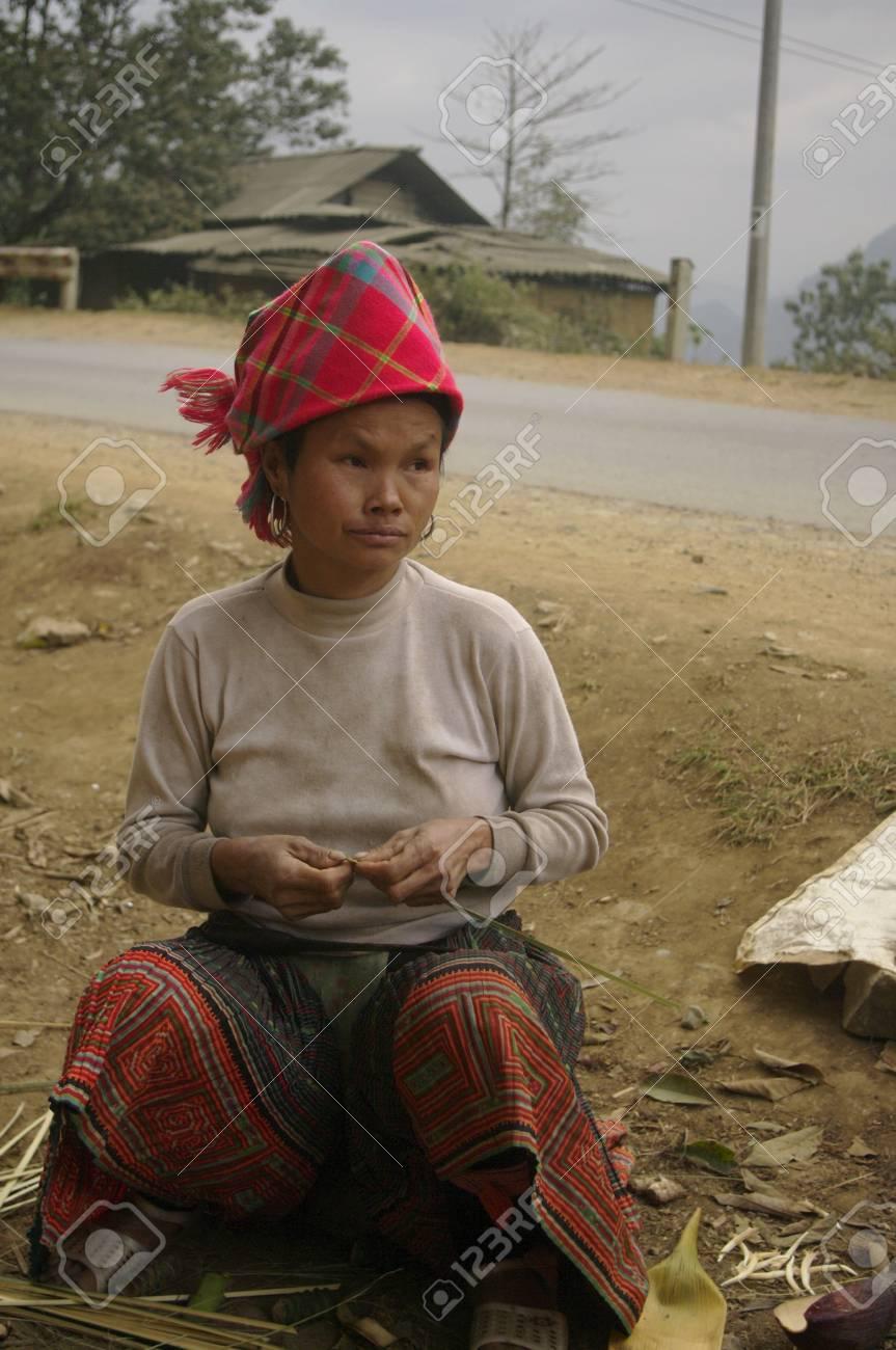 Hmong ethnic female Stock Photo - 7563622