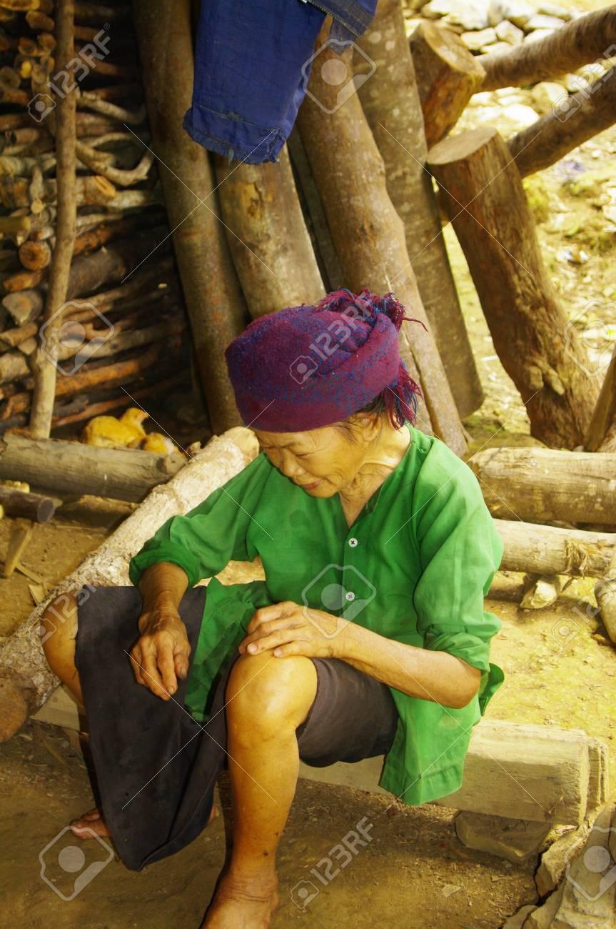 Ethnic Thay Grandmother Stock Photo - 9458708