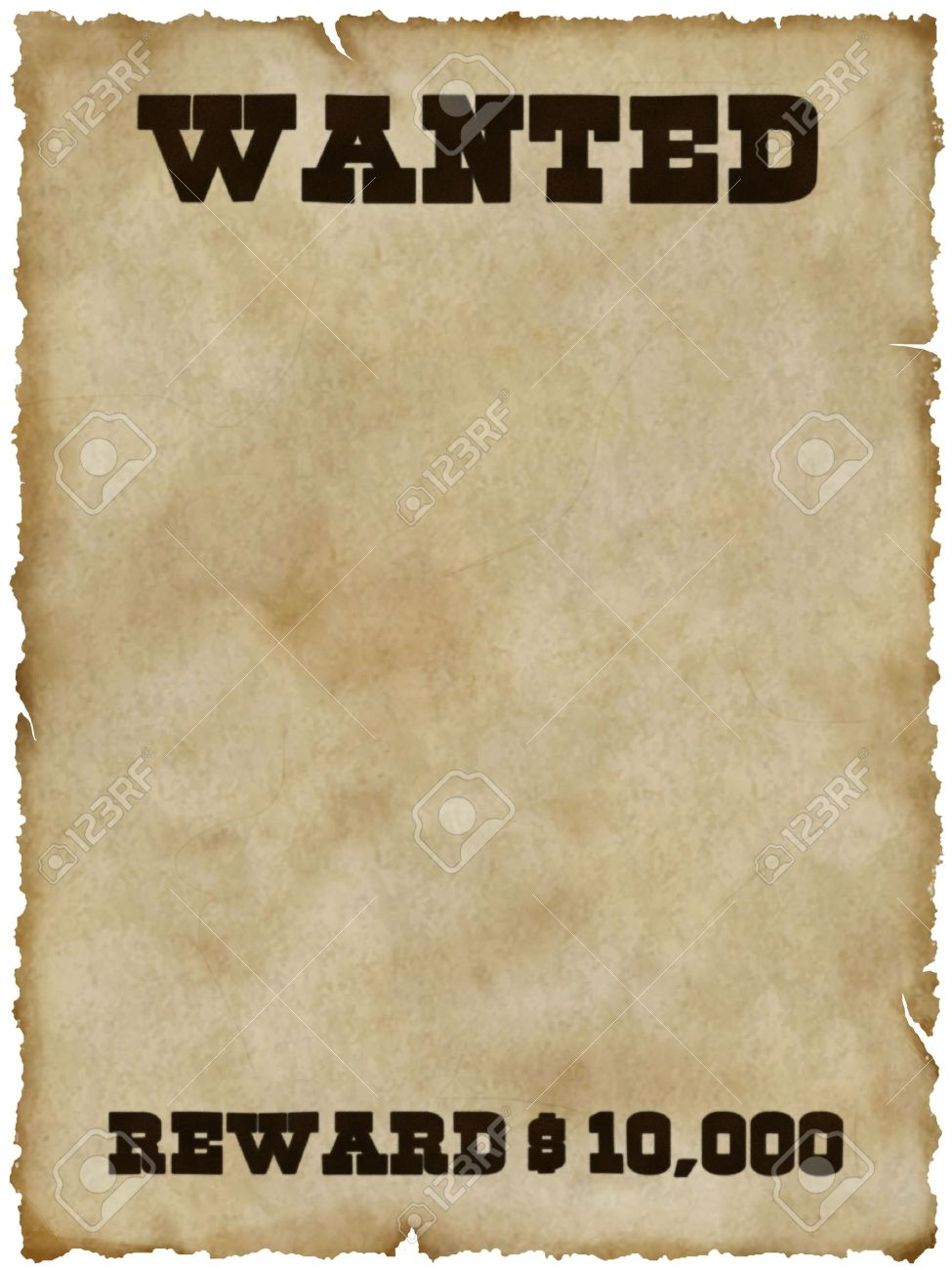 Wanted Poster Stock Photo, Picture And Royalty Free Image. Image ...