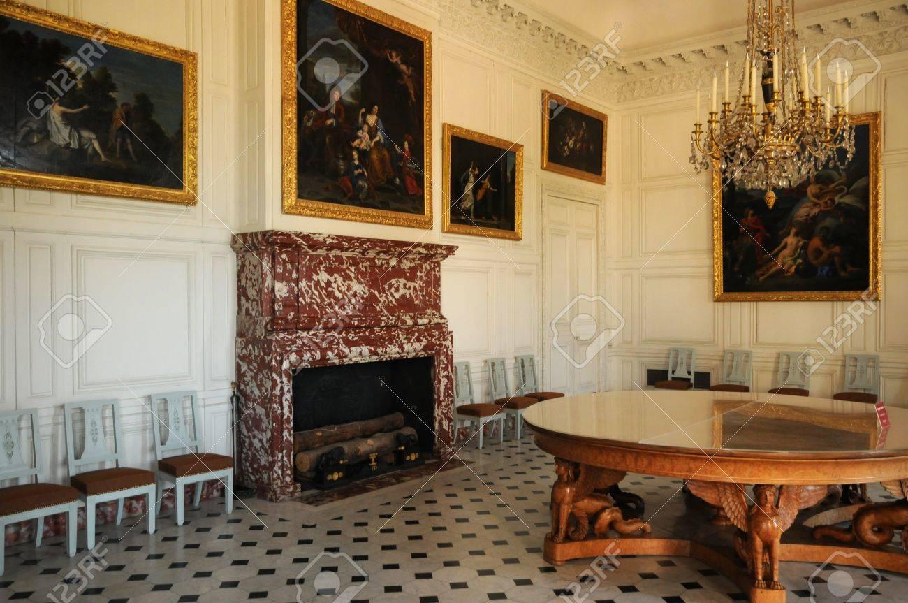 Versailles Une Salle à Manger Le Grand Trianon Banque Dimages Et