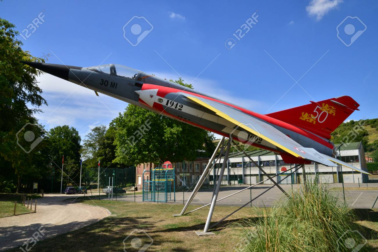 Les Andelys France August 10 2015 A Mirage F1 Of Normandie Stock Photo Picture And Royalty Free Image Image 54052328