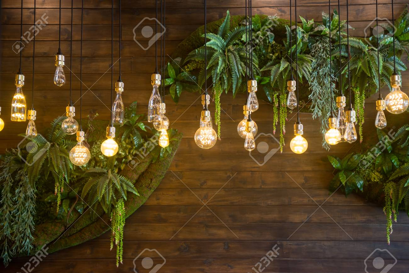 Recessed Ceiling Lights In A Coffee Shop Stock Photo Picture And Royalty Free Image Image 107448122