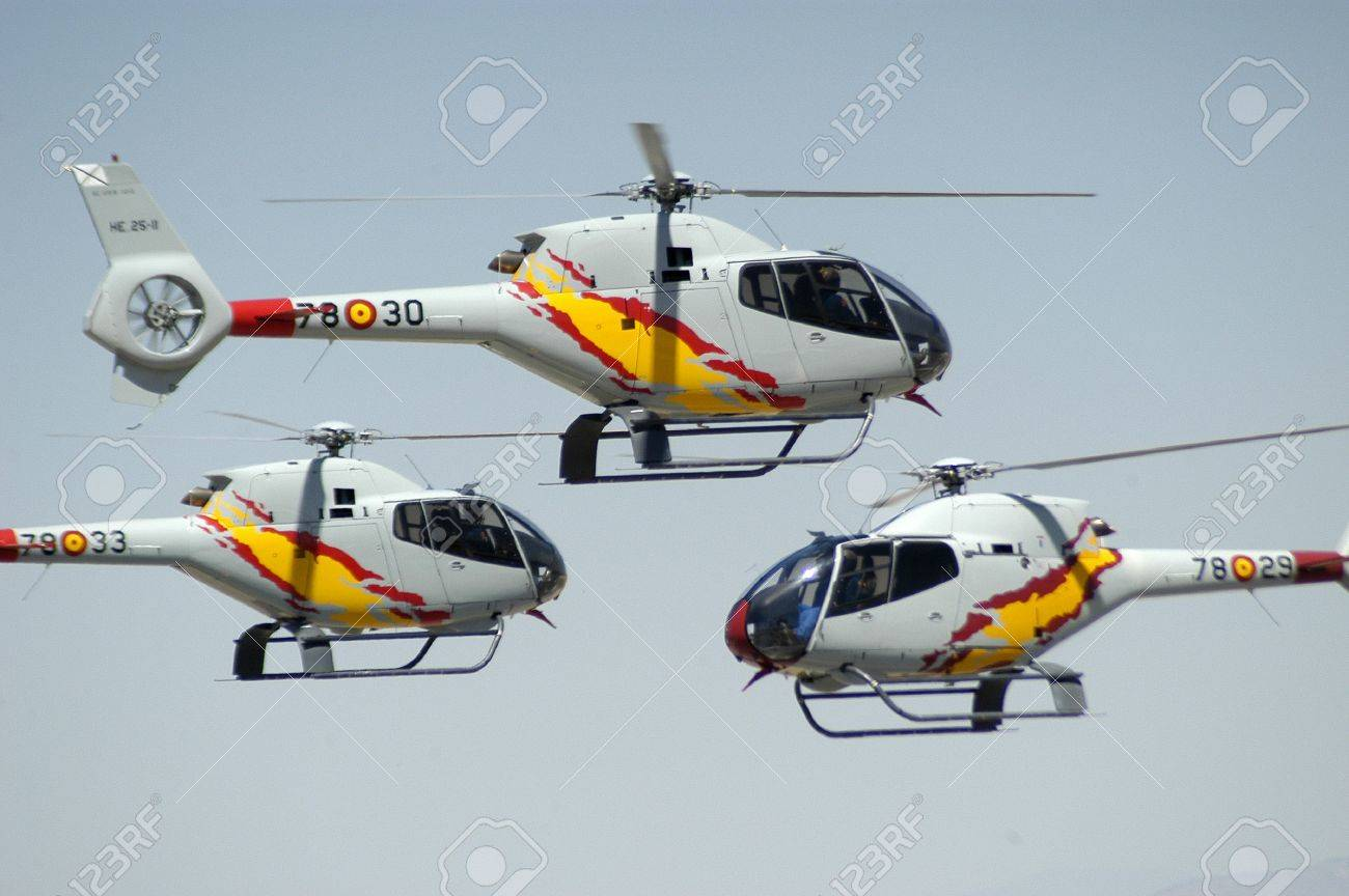 helicopters in an air show Stock Photo - 7447748