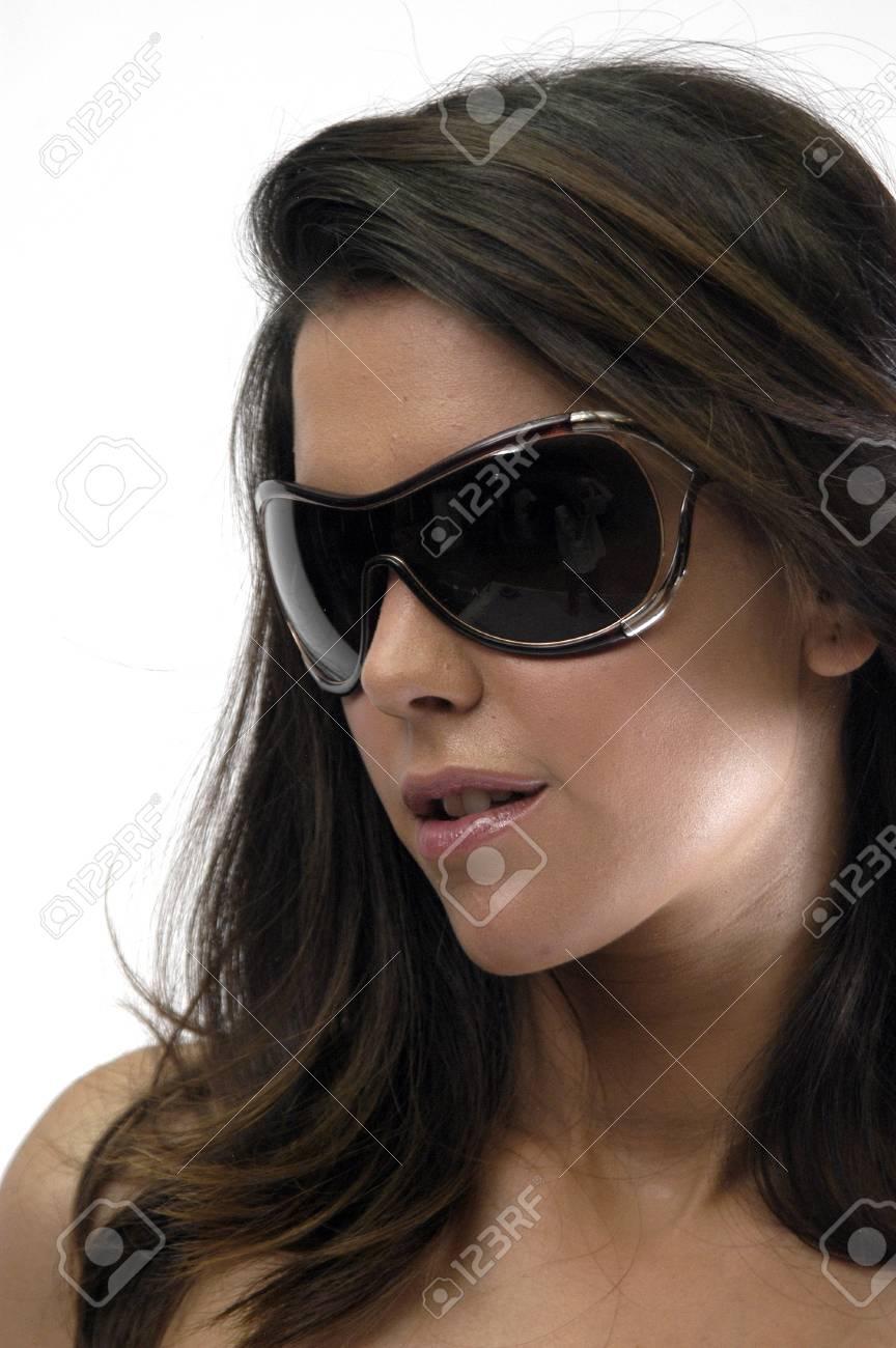 Female model with sunglasses Stock Photo - 7502378