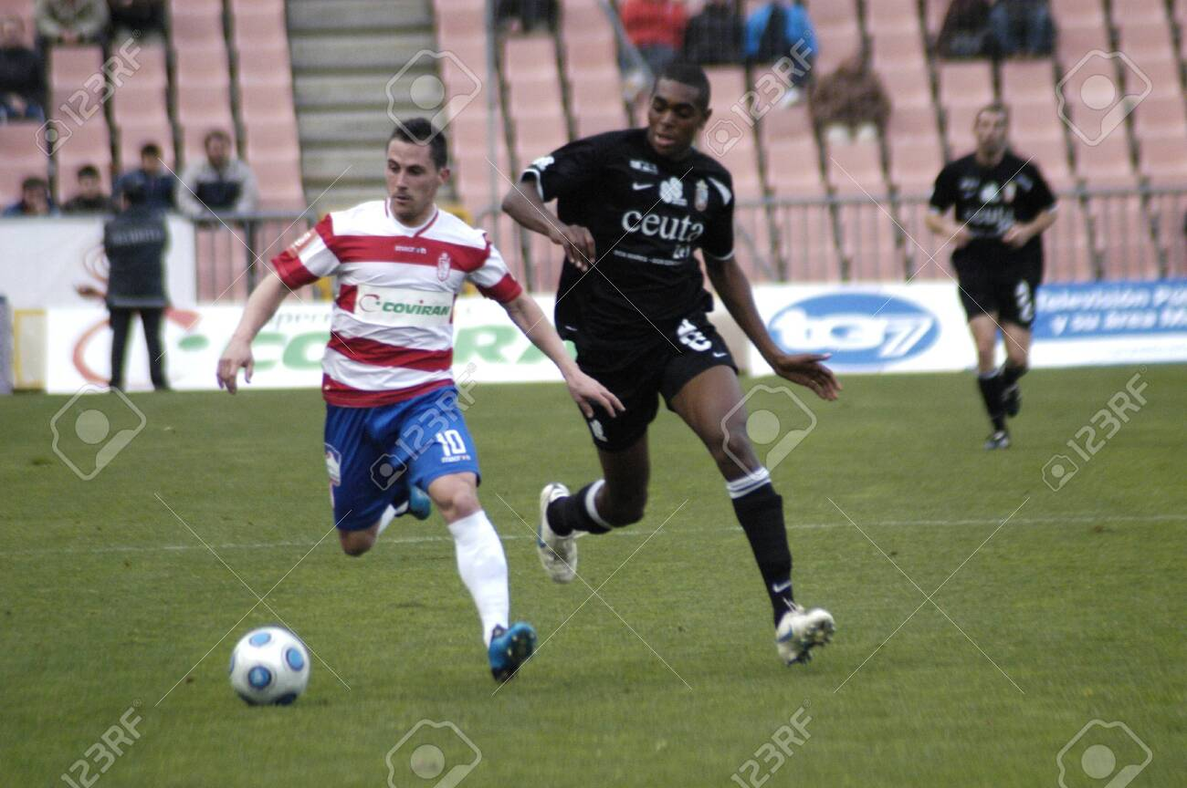 2010/02/14 - Granada - Spain-football game between the Granada and Ceuta Stock Photo - 8461705