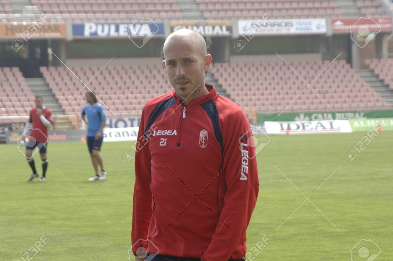 2011/06/10 - spain - granada - heat after practice of granada cf Stock Photo - 9707621