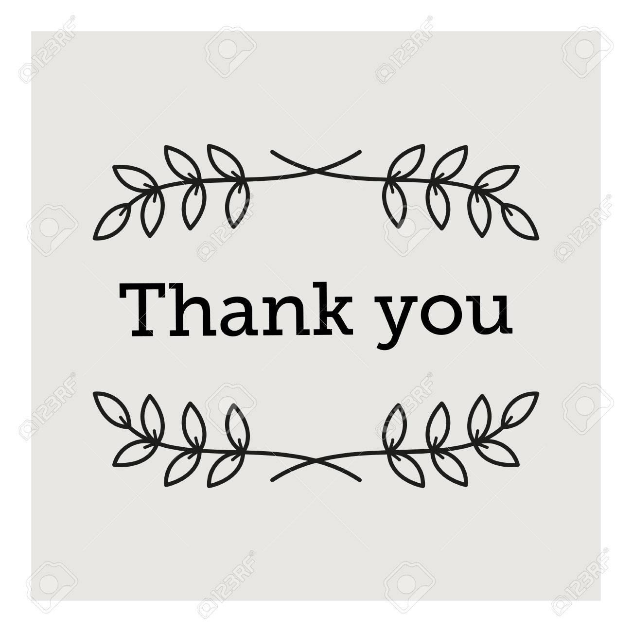 Thank you card background design template royalty free cliparts thank you card background design template stock vector 36662519 spiritdancerdesigns Choice Image