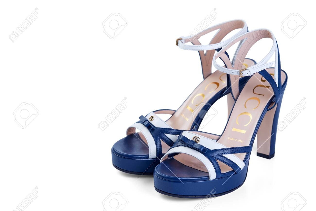 Pair Of Womens Open GUCCI Sandals Made