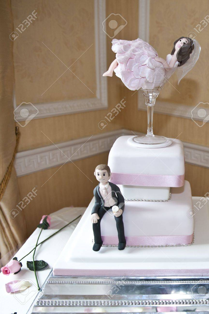 Traditionelle Hochzeitstorte