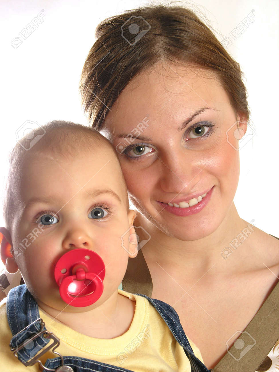 young mother with baby Stock Photo - 287056