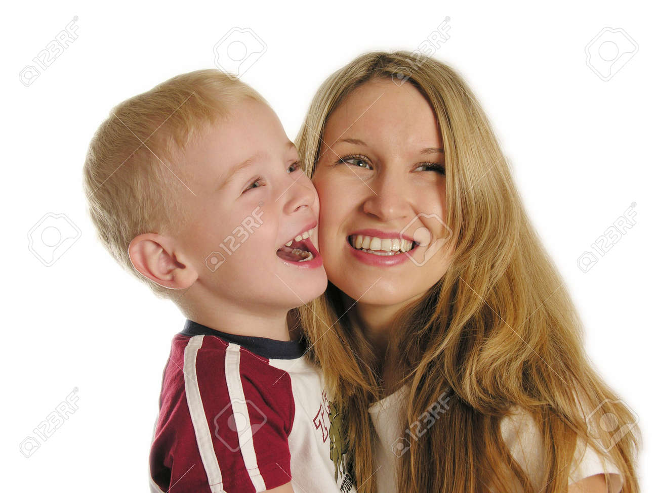 mother with child smile Stock Photo - 430390