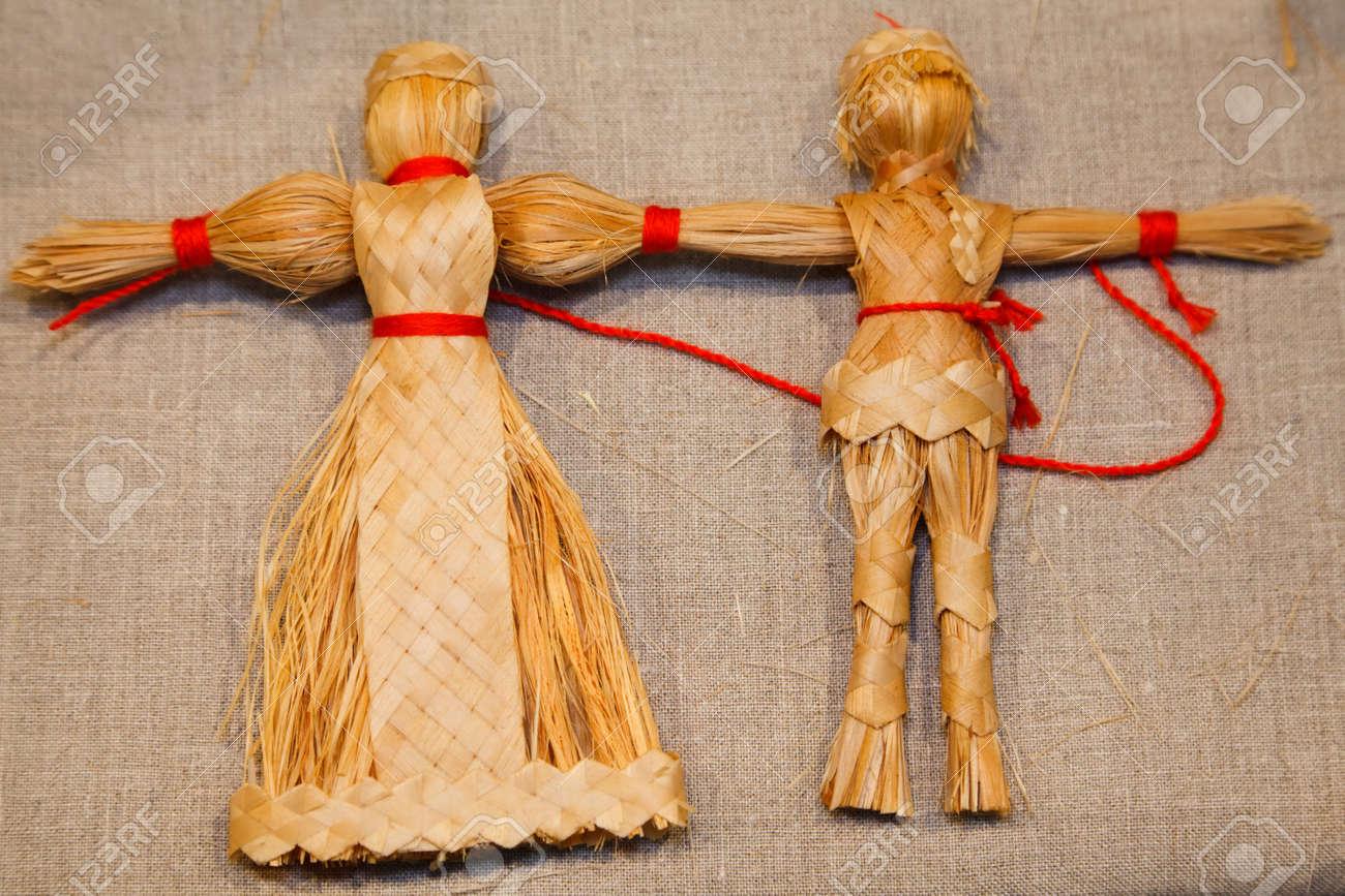 Как сделать игрушку из соломы своими руками