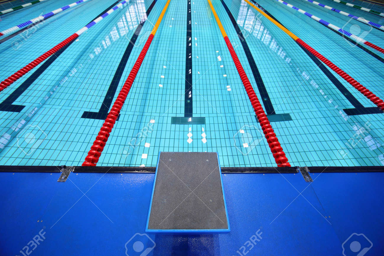 Swimming Pool Lanes Background swimming lane stock photos & pictures. royalty free swimming lane