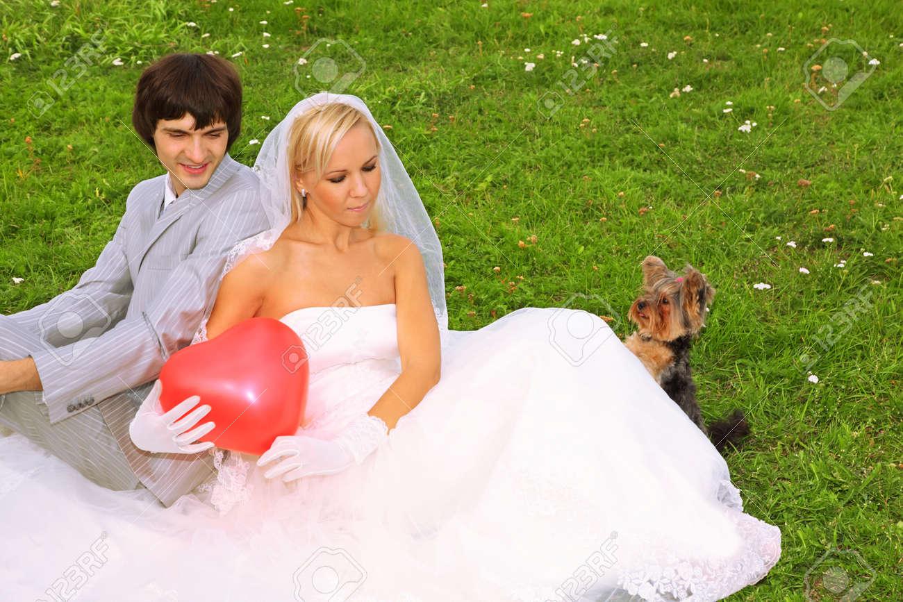 маленькие жених и невеста
