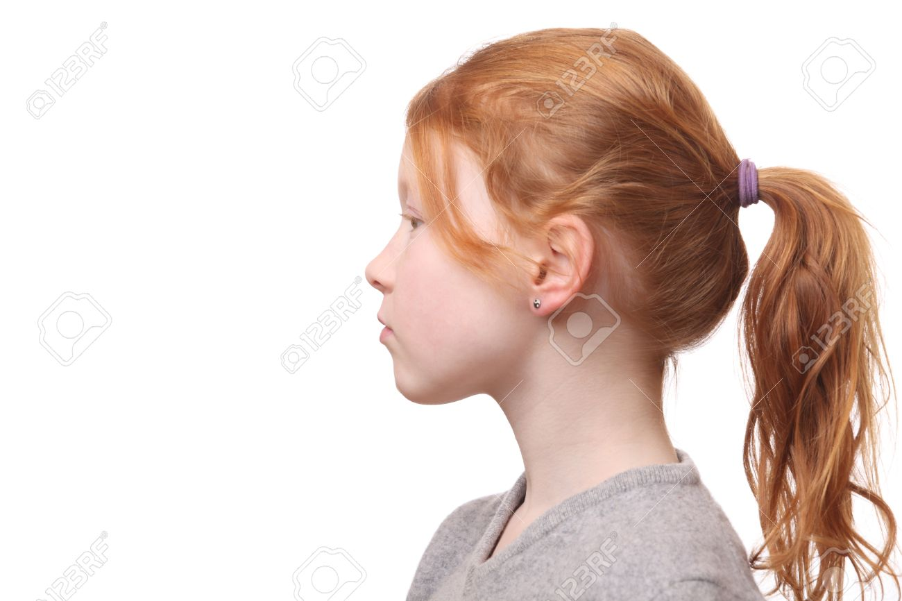 Image result for girl with ponytail;