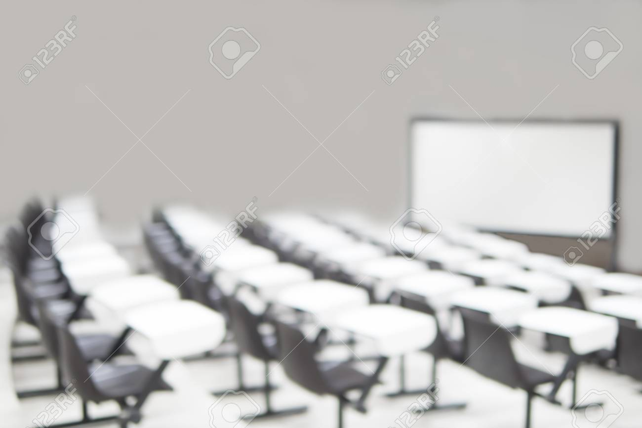 Awe Inspiring Blurred Photo Of Empty Seat Row In Lecture Room Pdpeps Interior Chair Design Pdpepsorg